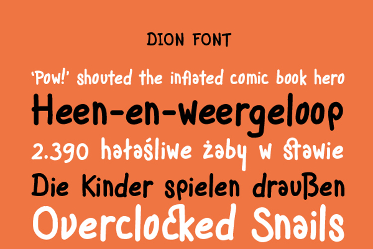 Dion Font