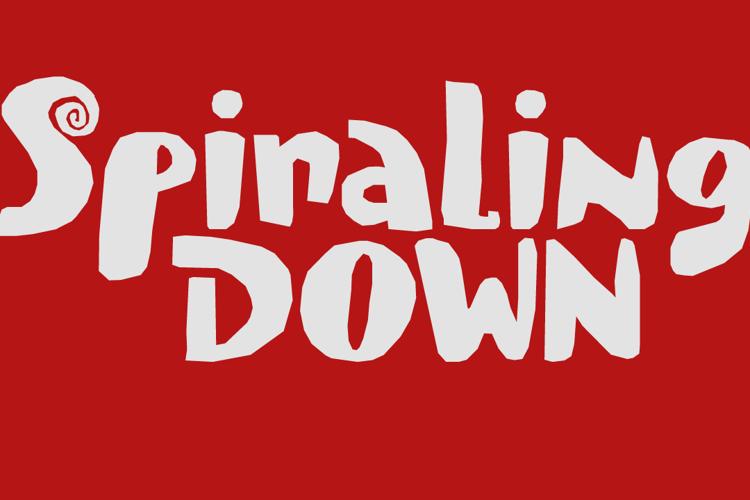 Spiraling Down DEMO Font