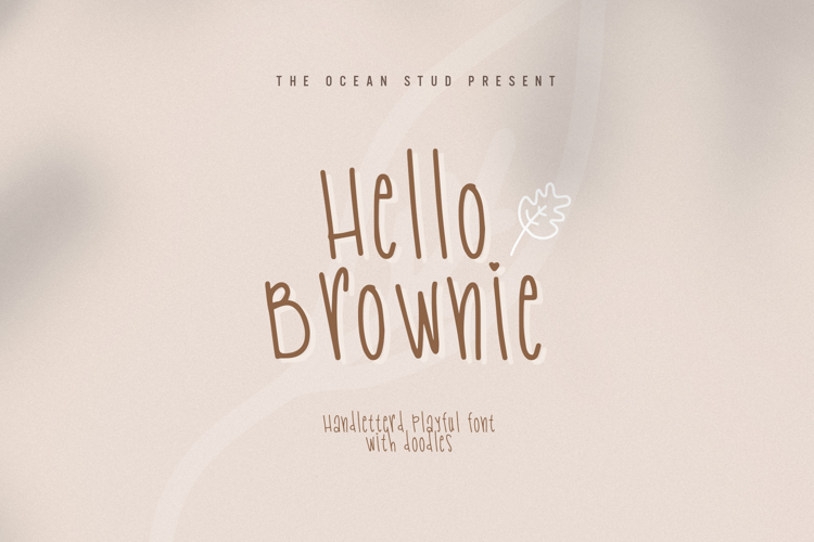 Hello Brownie Font