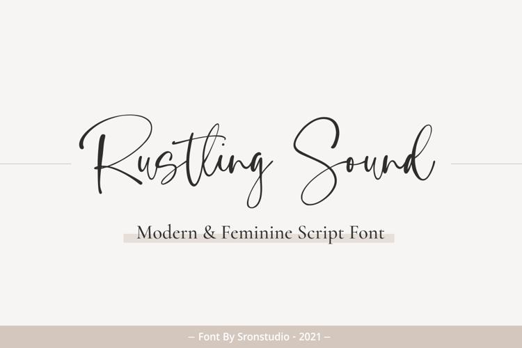Rustling Sound Font
