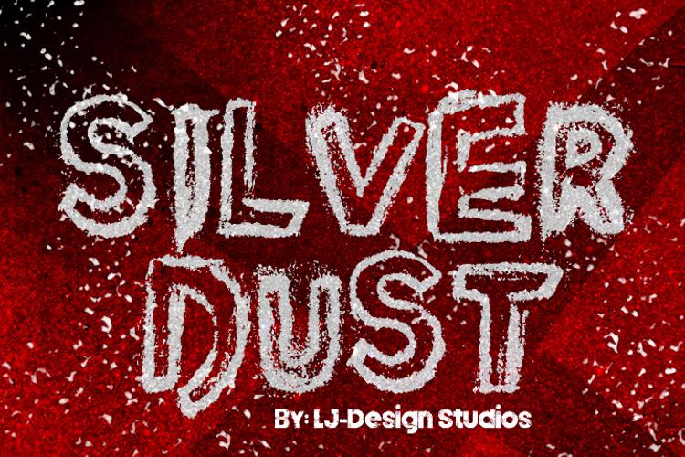 Silver Dust Font
