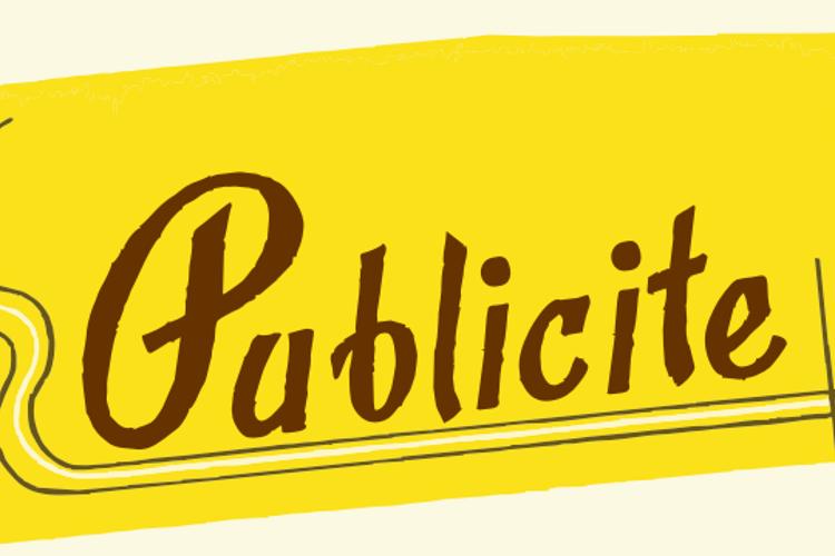 Publicite Font