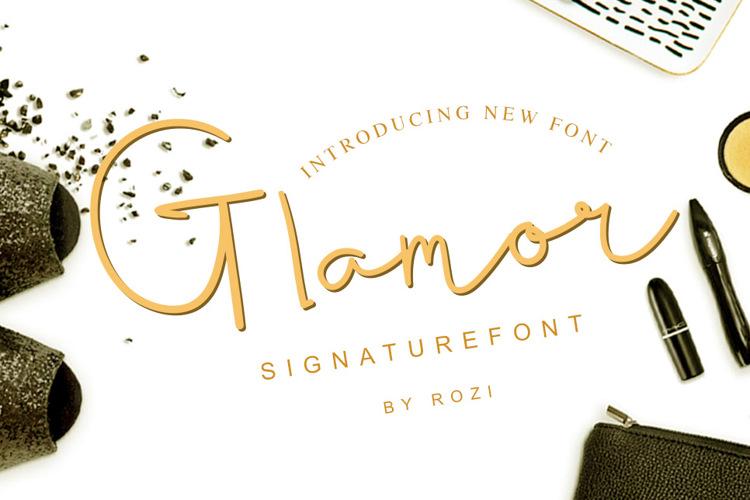 Glamor Signature Font