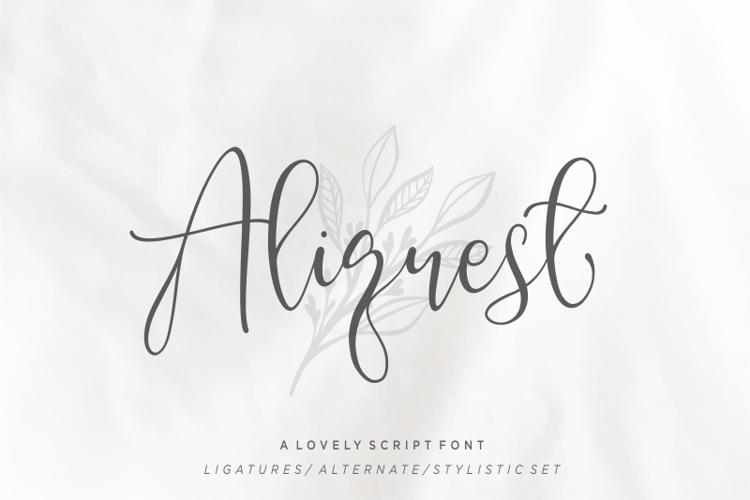 Aliquest Font