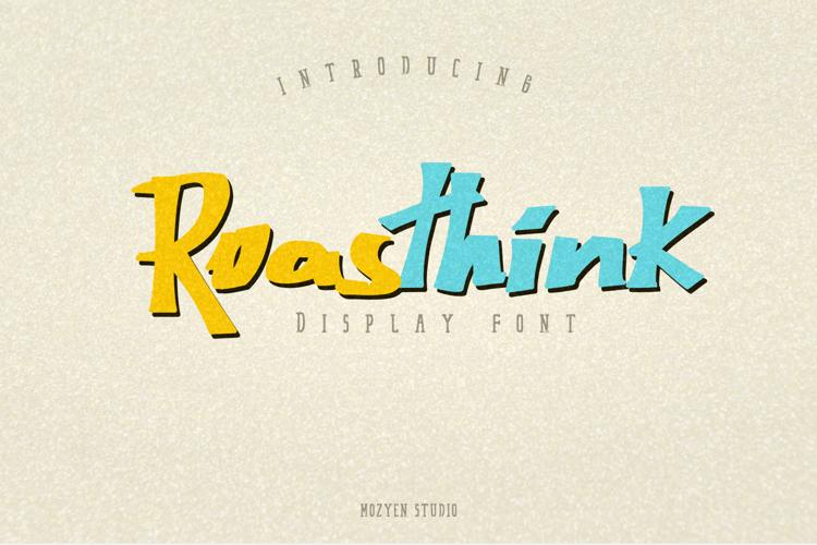Roasthink Font
