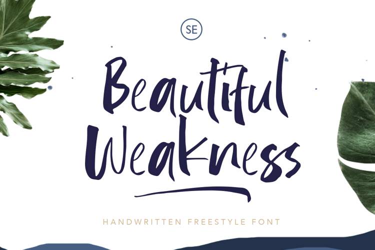 Beautifull Weakness Font