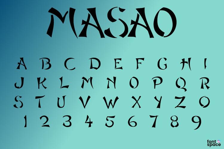 Masao Font
