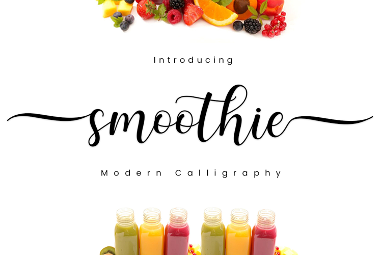 Smoothie Font
