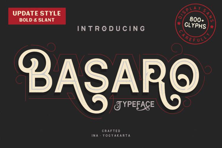 Basaro Font