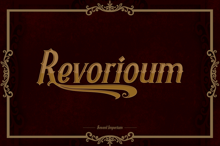 Revorioum Font