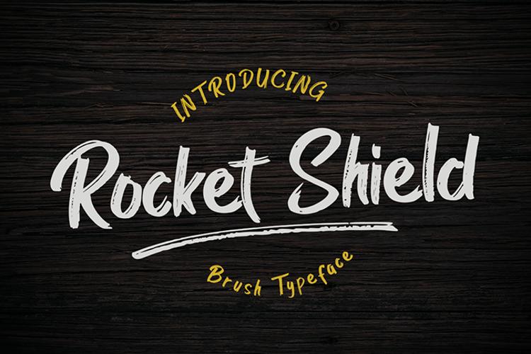 Rocket Shield Font
