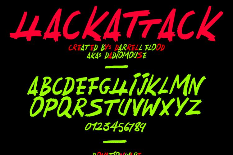 HackatTack Font