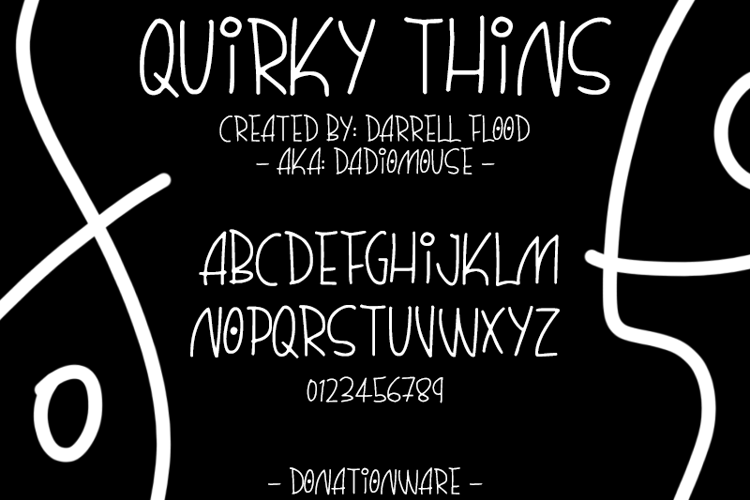 Quirky Thins Font