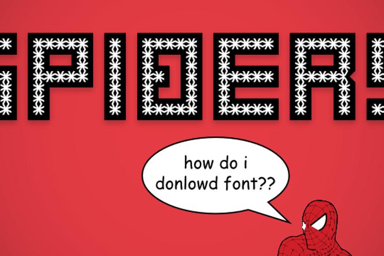 Spiderling Font