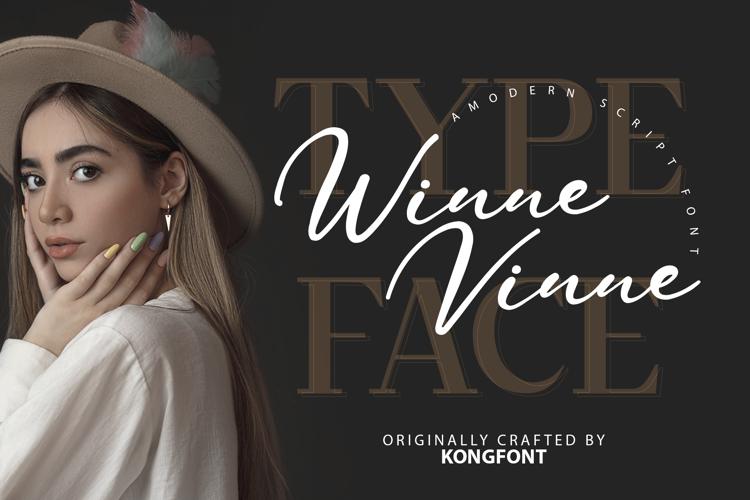 Winne Vinne Font