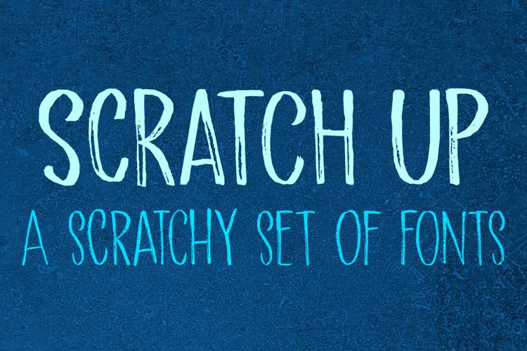 Scratch Up DEMO Font