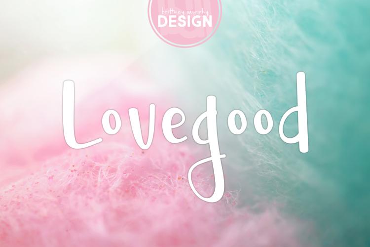 Lovegood Font