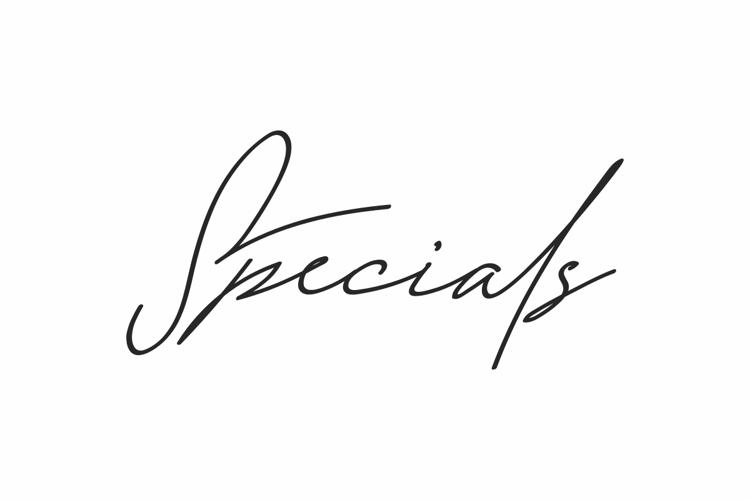 Specials Font
