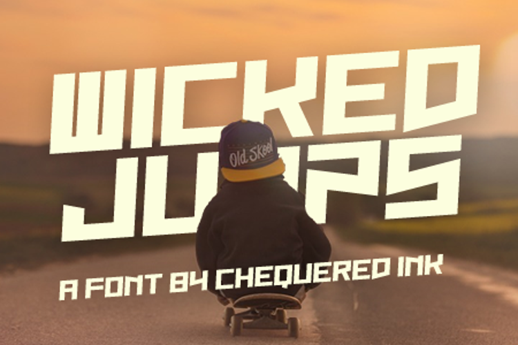 Wicked Jumps Font