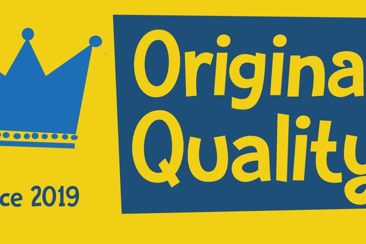 Original Quality Font