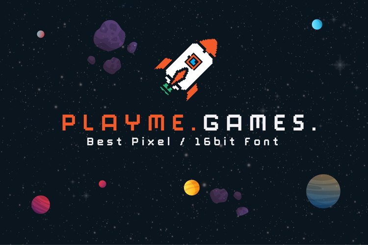 Play Me Games Font