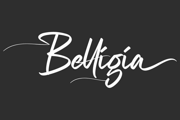 Belligia Font