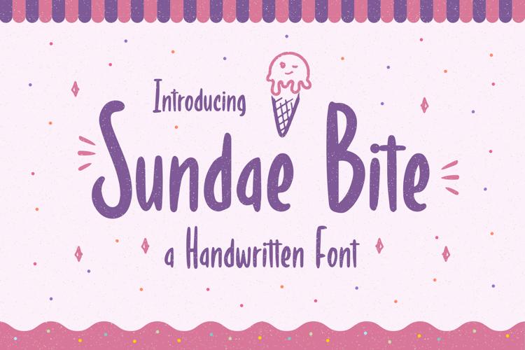 Sundae Bite Font
