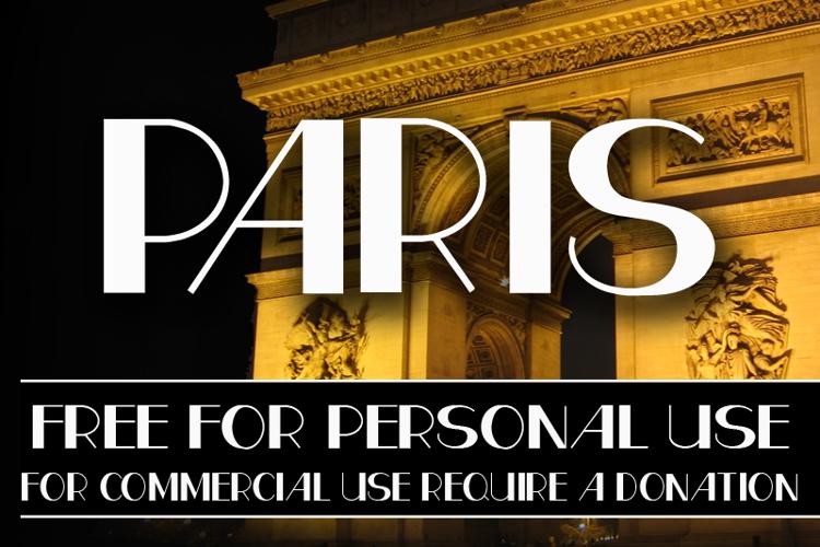 CF Paris Font