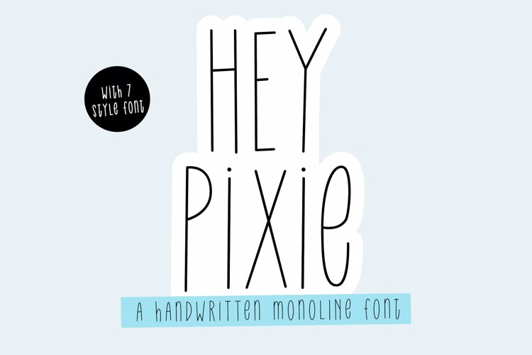 Hey Pixie Bold _ PERSONALUSE Font