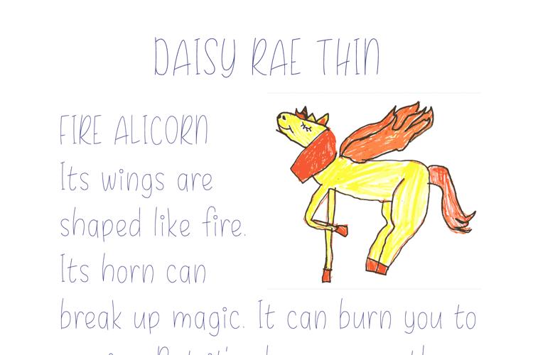 Daisy Rae Thin Font