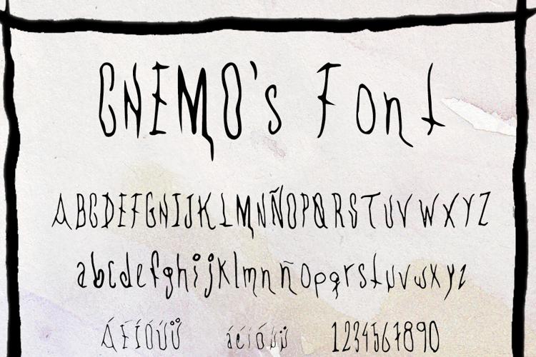 CHEMOs Font