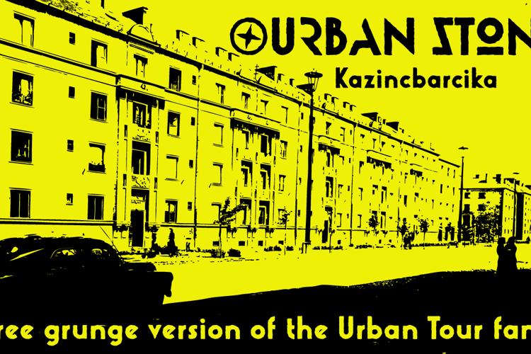 Urban Stone Font