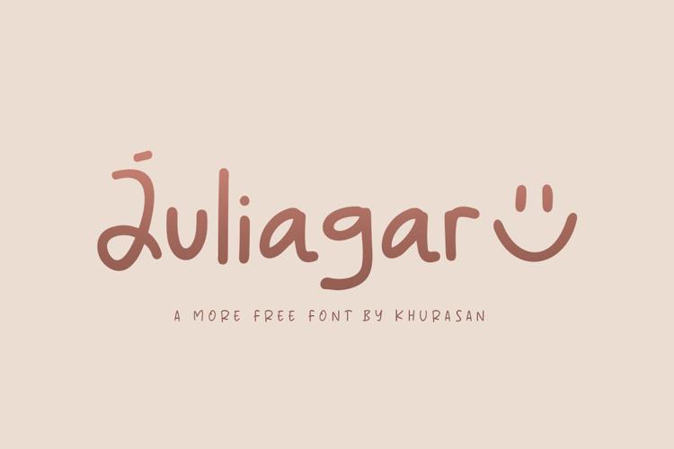 Juliagar Font