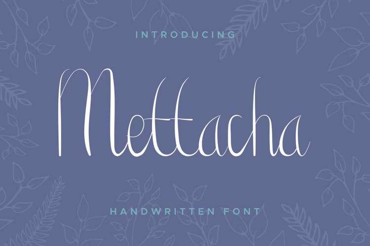 Mettacha Font