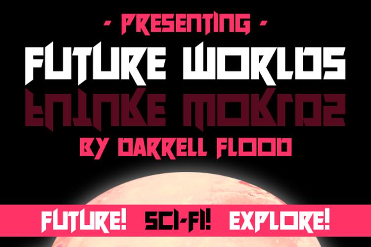 Future Worlds Font