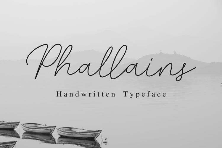 Phallains Font