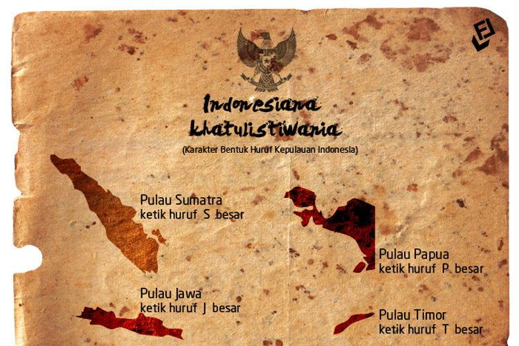 Indonesiana Khatulistiwania Font