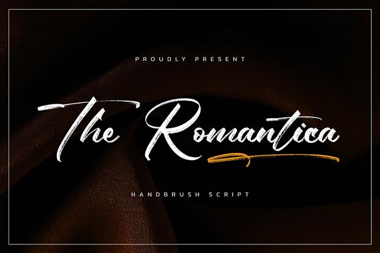 The Romantica Font
