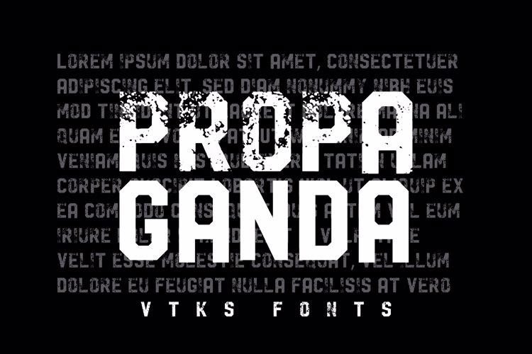 Vtks Propaganda Font