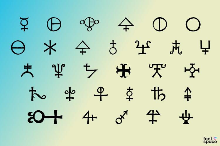 Agathodaimon Font