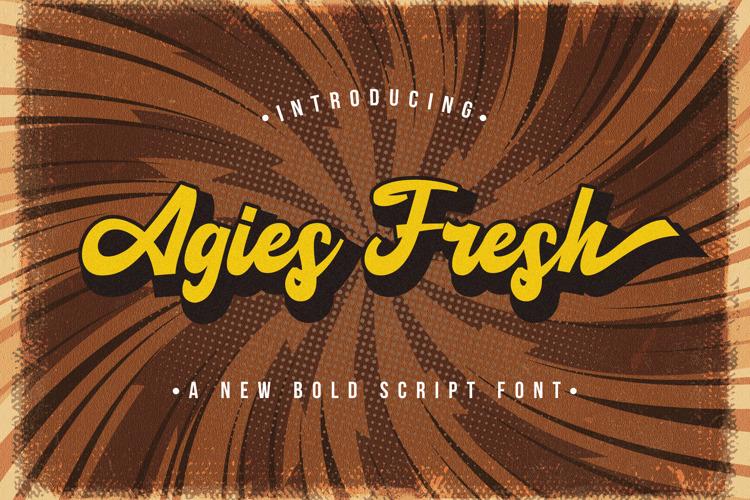 Agies Fresh Font