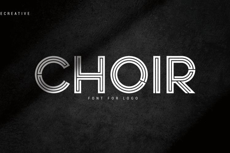 Choir Font