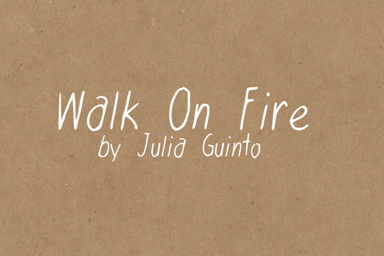 WalkonFire Font