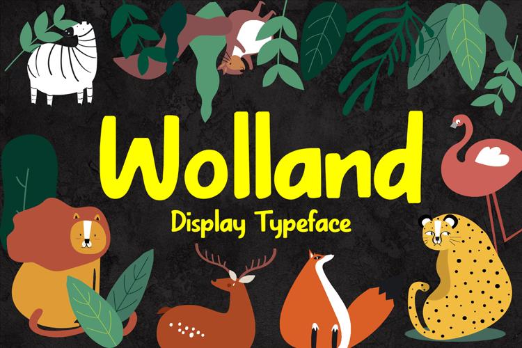 Wolland Font