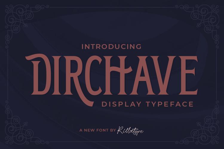 Dirchave Font