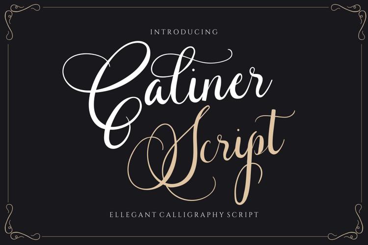 Caliner Script Font