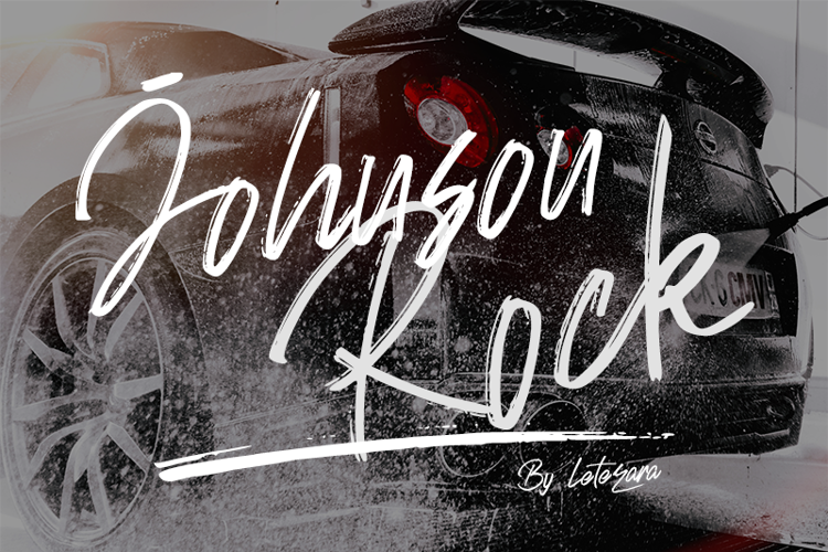 Johnson Rock Font