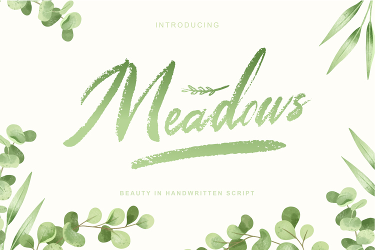 Meadows Font