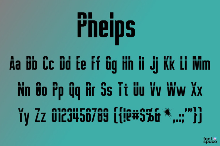 Phelps Font