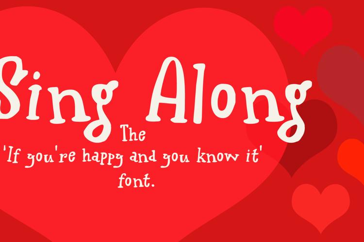 Sing Along Font